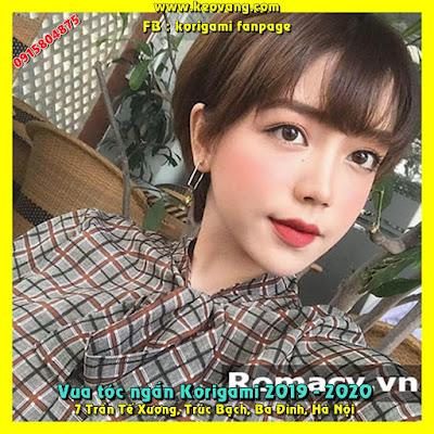 Vua tóc ngắn Korigami cắt tóc tomboy Kawai đẹp nhất Việt Nam 2019 2020