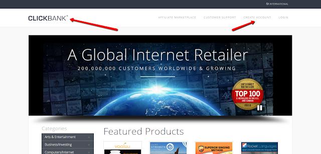clickbank affiliate Market