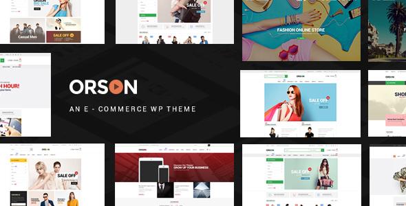 Orson v2.4 - Innovative Ecommerce WordPress Theme for Online Stores