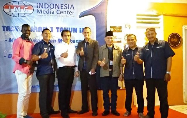 Media Online Indonesia Media Center (IMC) Gelar Tasyakuran 1 Tahun