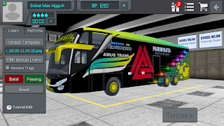 Livery bussid Aug trans