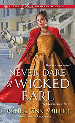 Book Review Never Dare a Wicked Earl, by Renee Ann Miller, 4 stars