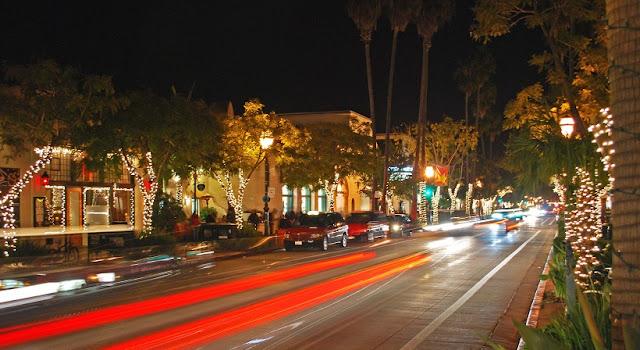 State Street para um roteiro de viagem em Santa Bárbara