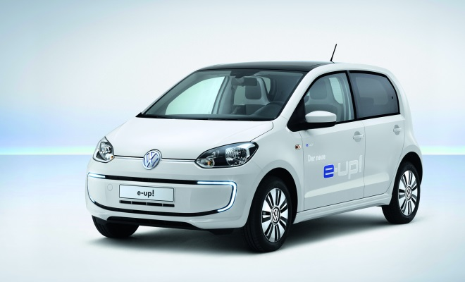 Volkswagen e-Up front view