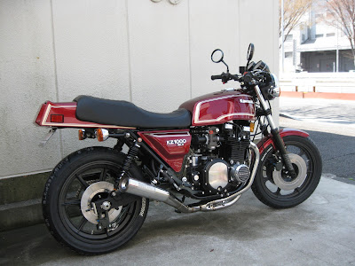 kawasaki Z1000Mk2,  XTENSION MC