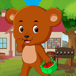 Play Games4King Cartoon Bear Rescue
