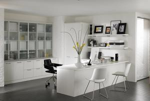 Work from home in style - Home offices don't have to be b