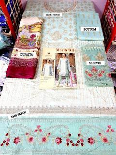 Deepsy maria b lawn 2 pakistani Suits open Pics