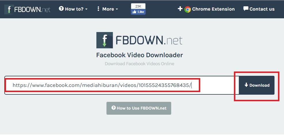 Cara Download Video Facebook Di Android Dan Komputer Tanpa