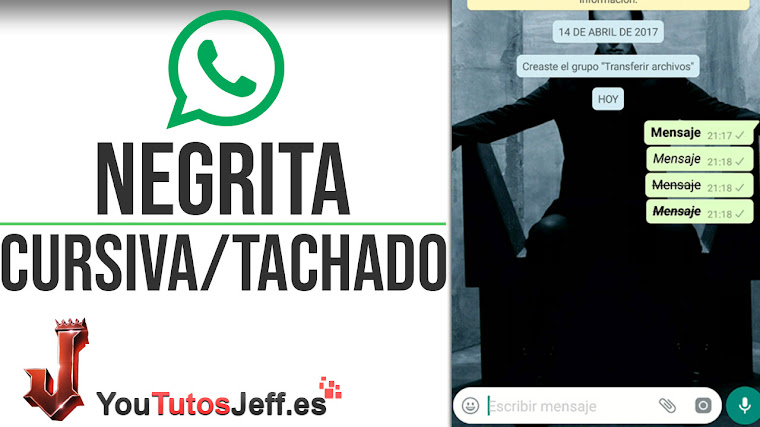 Como Poner Negrita y Cursiva en WhatsApp - Trucos WhatsApp