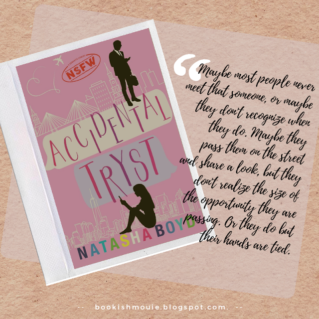 BOOK BUDDY READING #1: Accidental Tryst by Natasha Boyd
