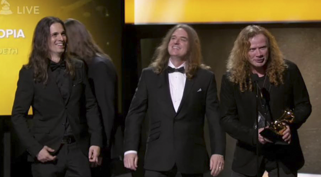 megadeth grammy awards 2017