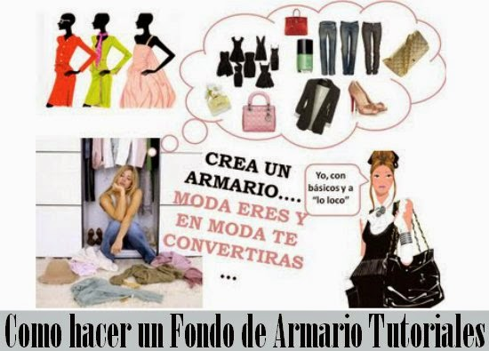 armarios, fondos, looks, organizar, moda, bricomoda, ideas útiles
