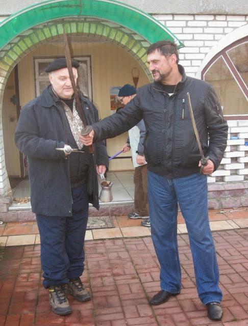 писатели Сергей Пономаренко, Сергей Батурин