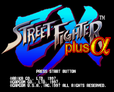 【PS】快打旋風EX Plus Alpha(街頭霸王),Street Fighter EX Plus Alpha!