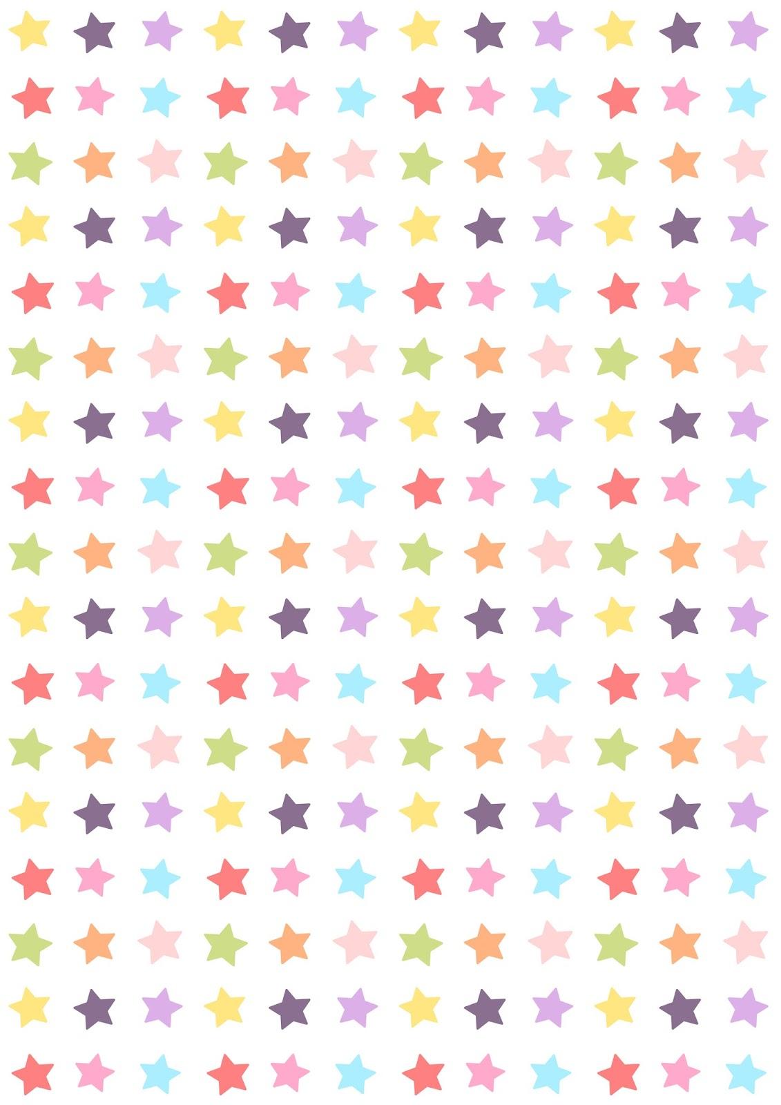 Free digital star candy scrapbooking paper - ausdruckbares ... - photo#45