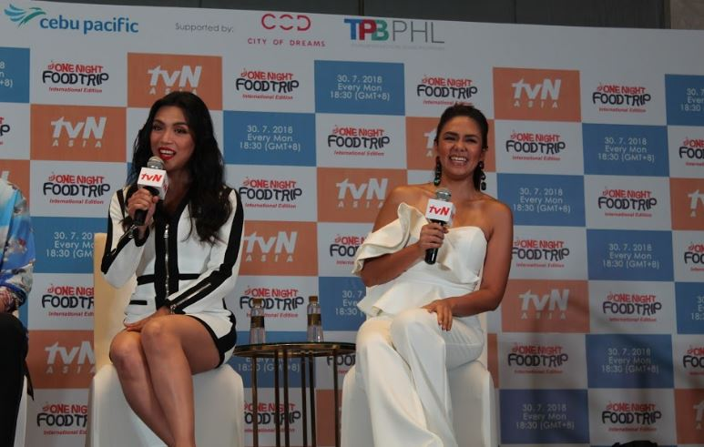 Celebrity chef Danica Sotto-Pingris and singer-host Ciara Sotto.