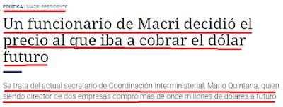 MAURICIO MACRI, BCRA