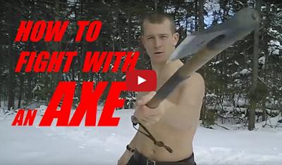 Πώς να χρησιμοποιήσετε σε μάχη ένα πολεμικό τσεκούρι (vid)