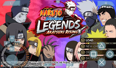 Game Naruto Shippuden Legends ISO For PPSSPP HighCompress