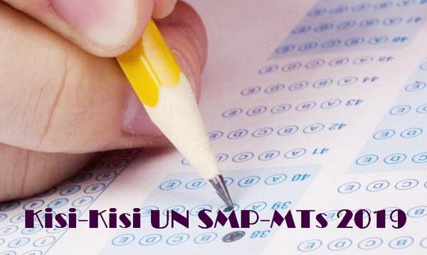 Kisi-Kisi UN SMP-MTs 2019 PDF