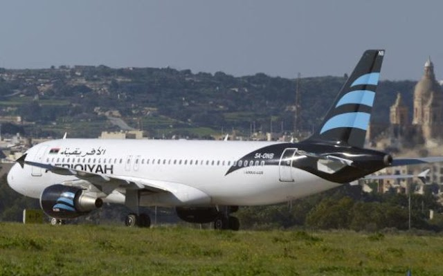 Afriqiyah Libyan Airways Plane Hijacked, Lands In Malta