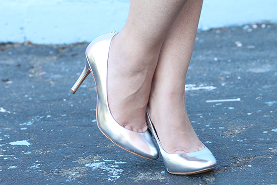 Coach Silver Heels | Will Bake for Shoes