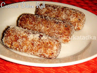 Coconut Dates Roll
