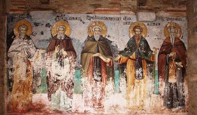 Νέα στοιχεία για την ταυτότητα των δημιουργών του ζωγραφικού συνόλου στο ναό του Πρωτάτου στις Καρυές