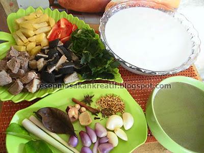 Cara Membuat Soto Betawi daging Sapi