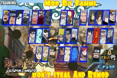 Naruto Senki MOD Unlimited Money Ultimate Shinobi Flame 1 Apk Android Terbaru