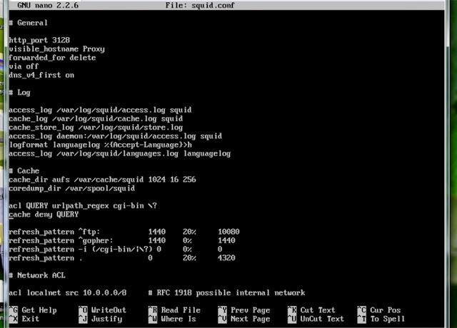 Building Squid 3 5 4 Transparent Proxy on Ubuntu Server