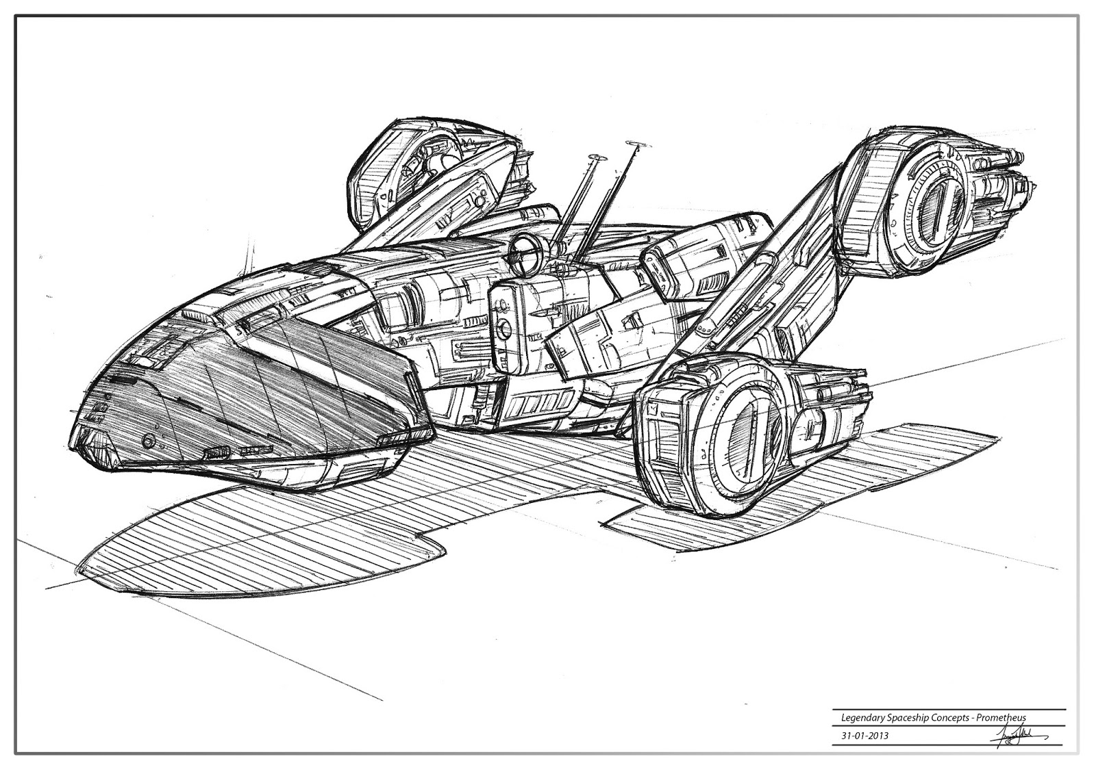 Grandpriy: Legendary Spaceships