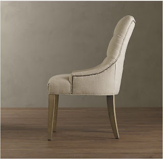 Restoration Hardware Martine Upholstered Armchair Decor