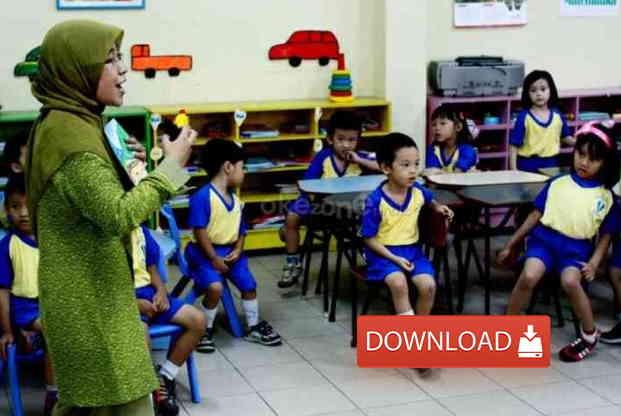 Download Modul Guru Pembelajar TK Kompetensi A sampai J Lengkap