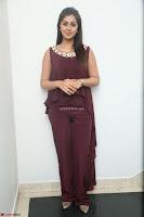 Nikki Galrani in a Brown Shining Sleeveless Gown at Nakshatram music launch ~  Exclusive 031.JPG
