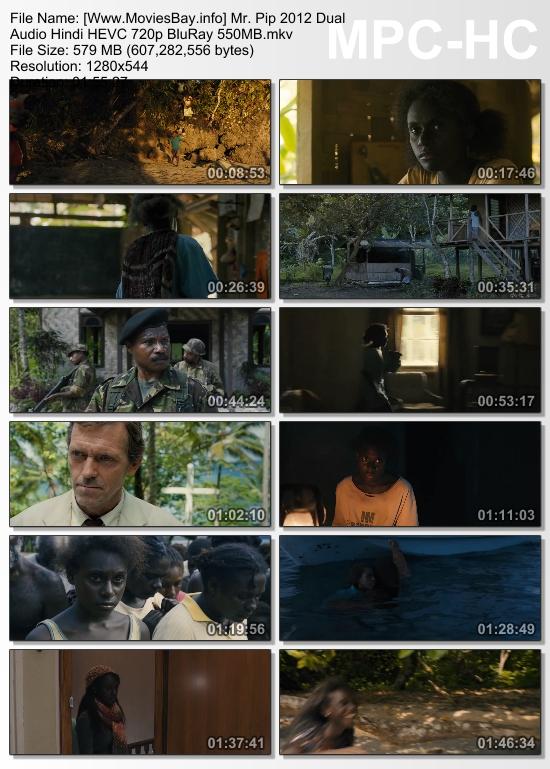 Mr. Pip 2012 Dual Audio Hindi HEVC 720p BluRay 550MB worldfree4u