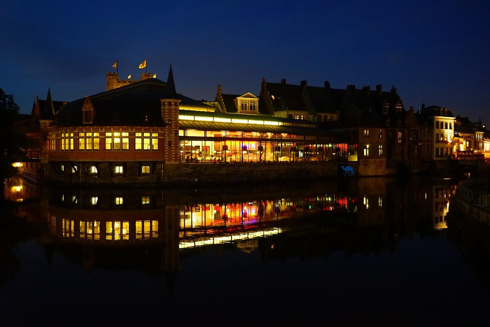 Le Chameau Bleu - Blog Voyage Gand Belgique - Gand Tourisme - Ancien marché aux poissons de Gand en Belgique flamande