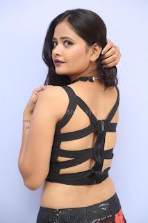 Shriya Vyas in a Tight Backless Sleeveless Crop top and Skirt 154.JPG