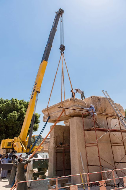 Restoration of Tuthmosis III barque shrine at Karnak Temple completed