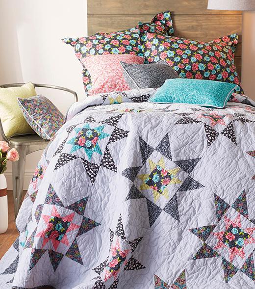 Jo-Ann Star Quilt Free Pattern