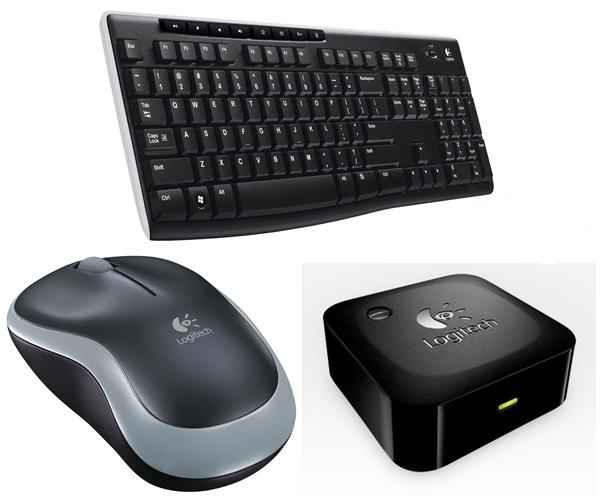 room cyber logitech wireless products keyboard mouse and speaker adapter. Black Bedroom Furniture Sets. Home Design Ideas