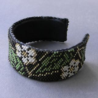 купить браслет на руку женский бижутерия из бисера ручной работы