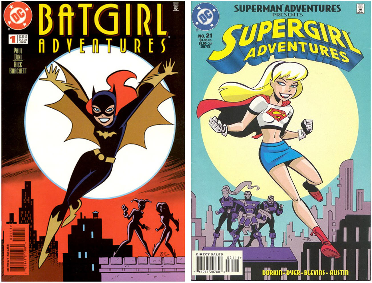 supergirl comic box commentary batgirl adventures 1