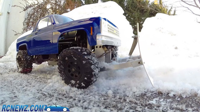 Tamiya High Lift rc plow truck