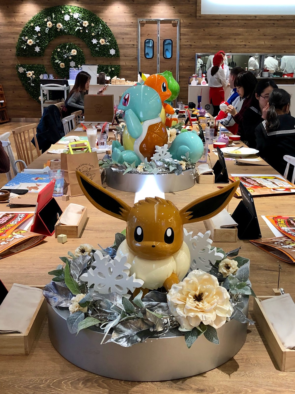 Pokemon Cafe Tokyo Food Review