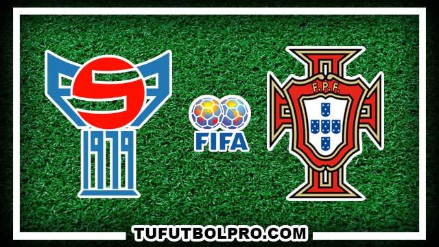 Ver Islas Feroe vs Portugal EN VIVO Gratis Por Internet Hoy 10 de Octubre 2016