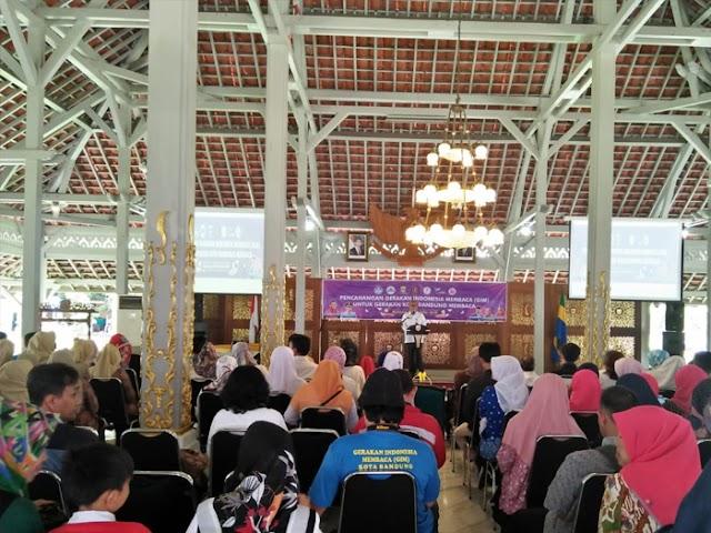 Kota Bandung Pacu Gerakan Indonesia Membaca