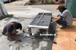 Jasa Pembuatan Kaki Meja Stainless di Serang Banten dan Sekitarnya