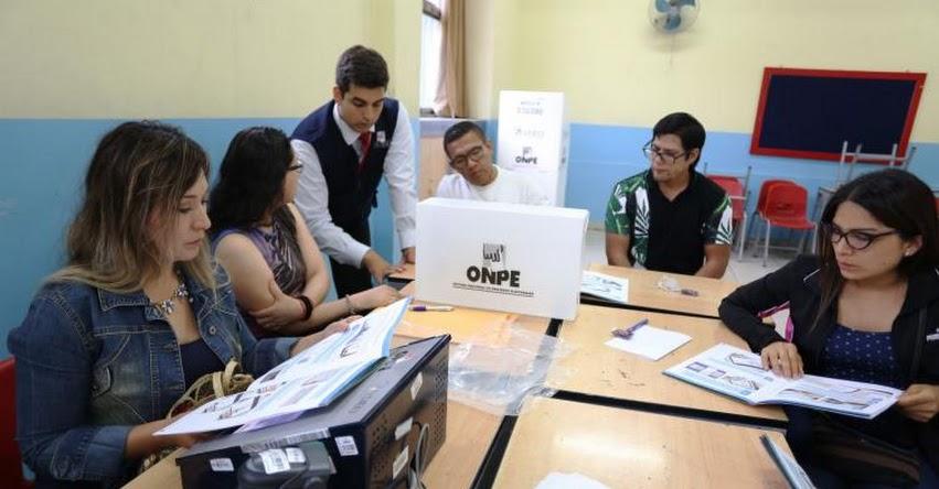 ONPE: Resultados Oficiales se darán a conocer por la noche (Domingo 26 Enero) www.onpe.gob.pe